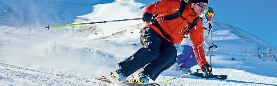 Ski skieur pistes
