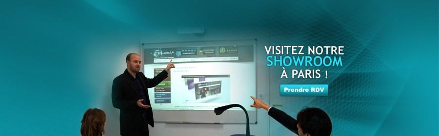 Communication dynamique de vos réunions avec l'écran interactif tactile
