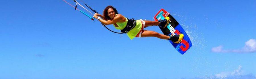 stage dans une école de kitesurf