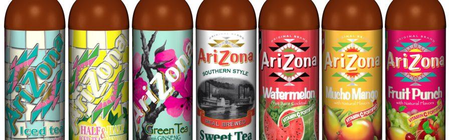 Arizona Drink, une large panoplie de produits