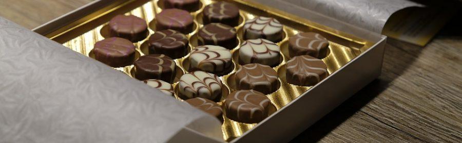 offrir des chocolats pour Noël