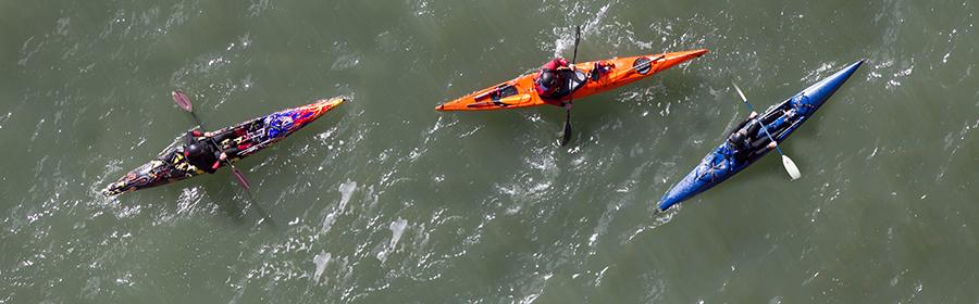 pratiquer le kayak